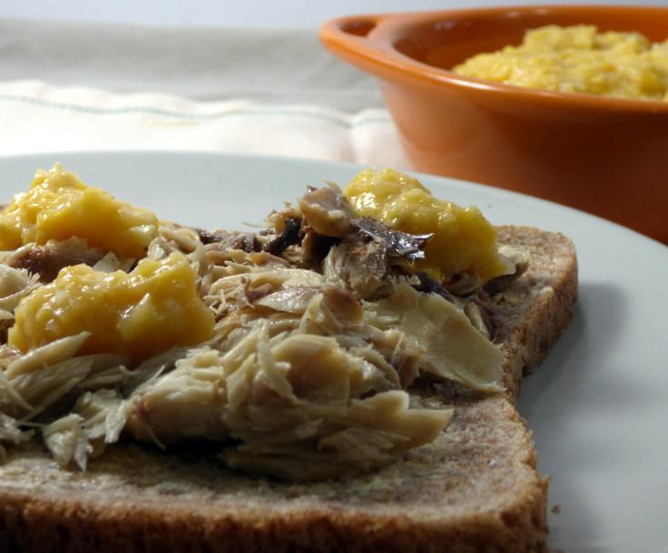 Canned Mackerel Sandwich- An Easy Lunch Idea