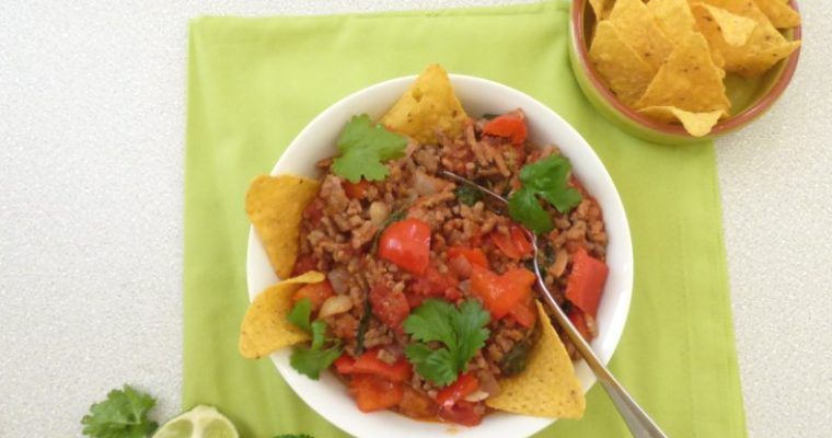 Savoury Mexican Mince with Lime and Coriander – No Chilli