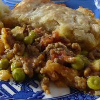 Keema Pie Close Up
