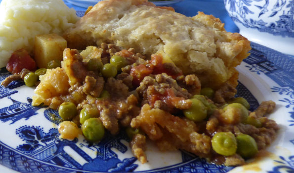 Keema Pie (Indian Style Minced Lamb)