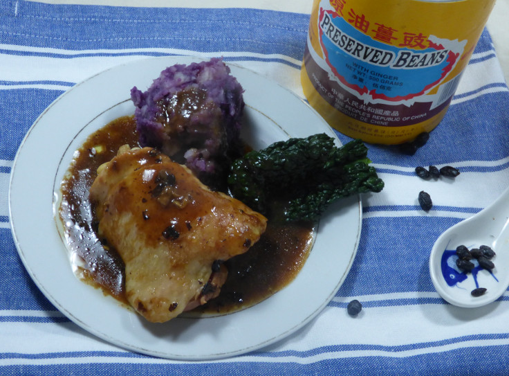 Easy Baked Chicken Portions in Black Bean Sauce