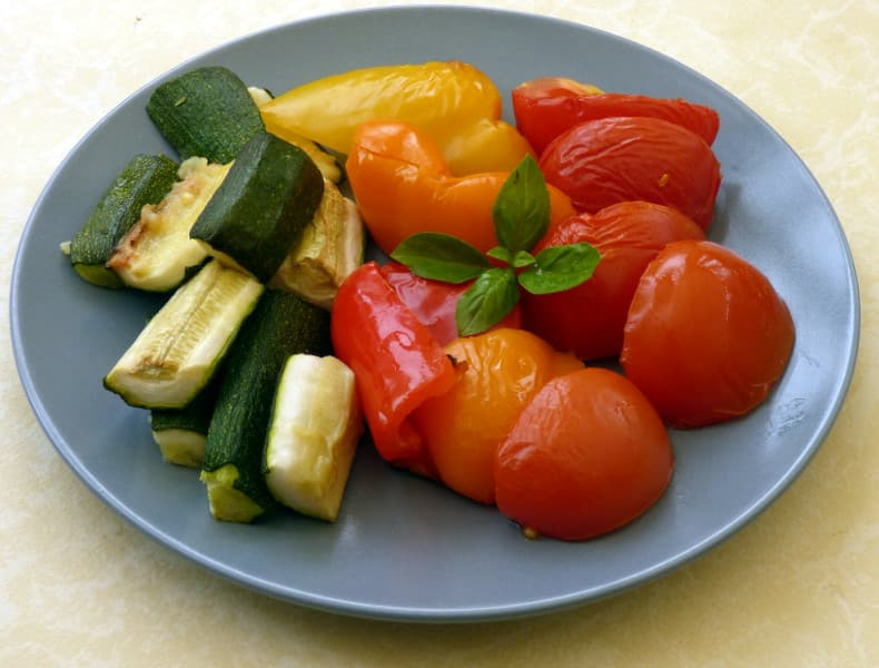 Easy Roasted Mediterranean Vegetables